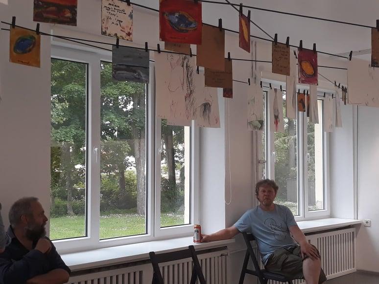 """Eesti Kunstikoolide Liit. Näitus """"Absurd minu ümber"""""""